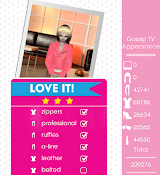 Teen Vogue Me Girl Level 24 - Gossip TV Appearance - Zoey - Love It! Three Stars