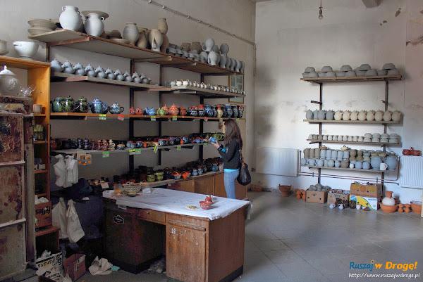 Chmielno - Muzeum Ceramiki Neclów - sklep z pamiątkową ceramiką