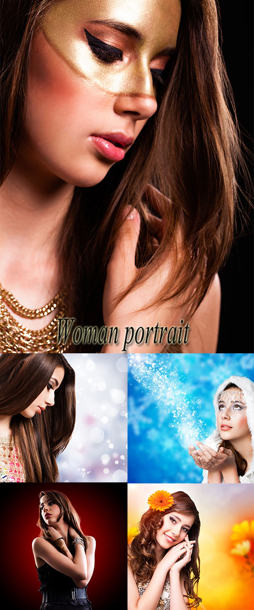 Stock Photo: Woman portrait 13