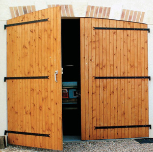 Comment automatiser une porte de garage battants - Porte de garage battant bois ...