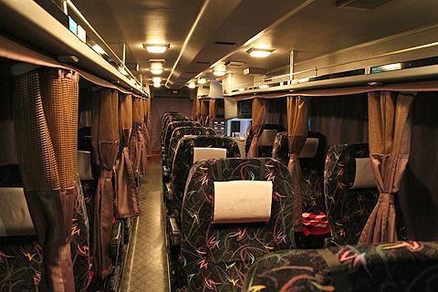 阪急観光バス「ムーンライト号」 K05-849 車内