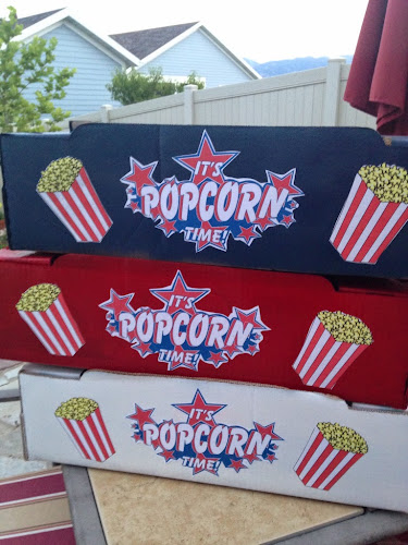 Baseball popcorn vendor trays