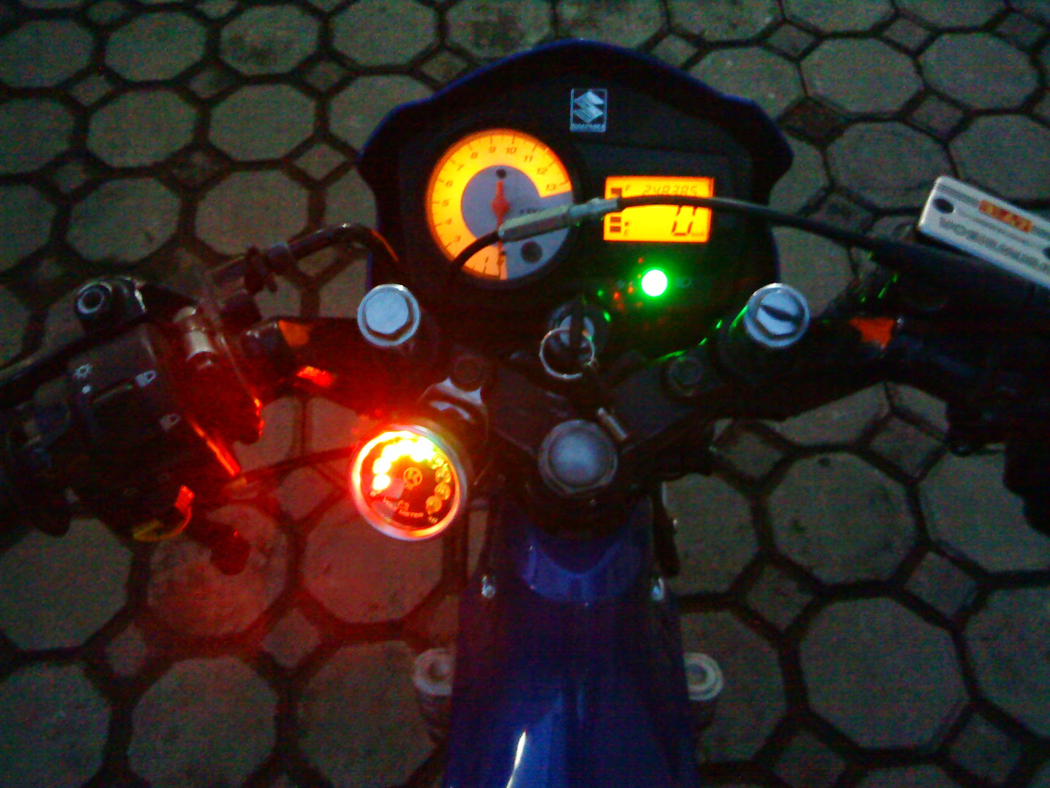 Modifikasi Skywave Drag