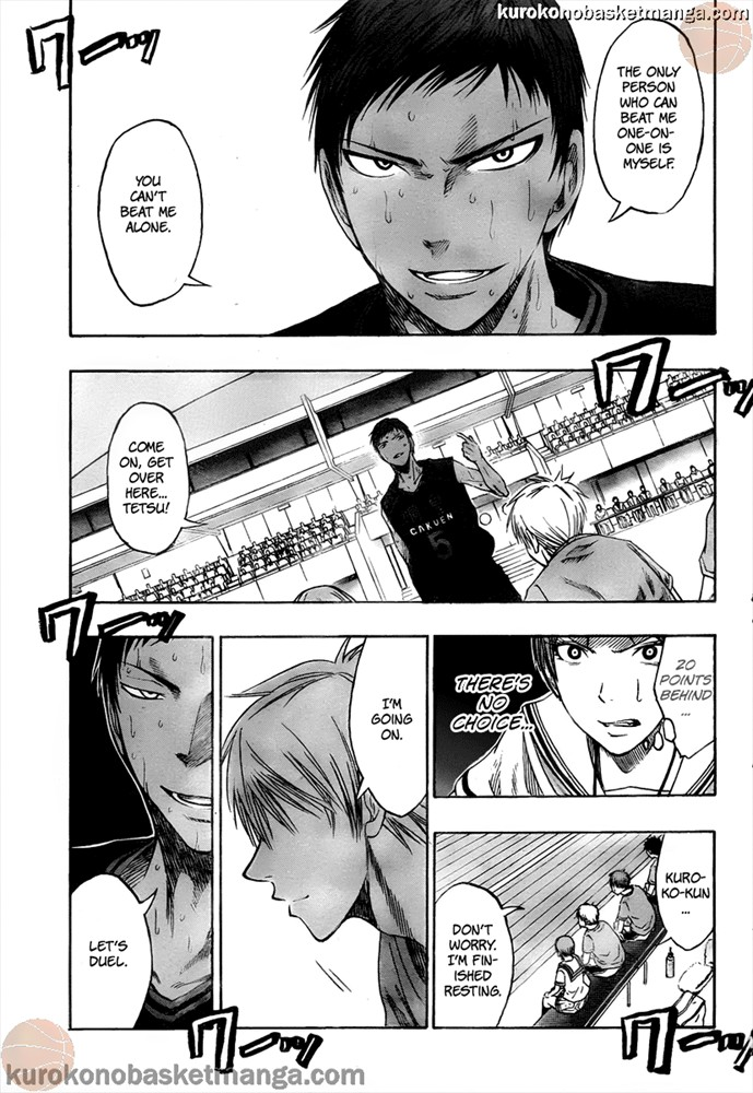 Kuroko no Basket Manga Chapter 49 - Image 17