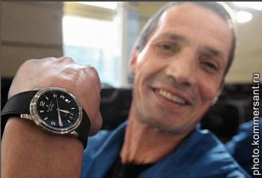 фото путина часы