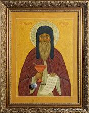 Преподобный Агапит Киево-Печерский целебник