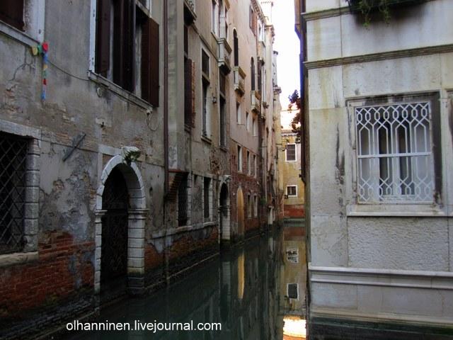 Вид с моста на Венецию