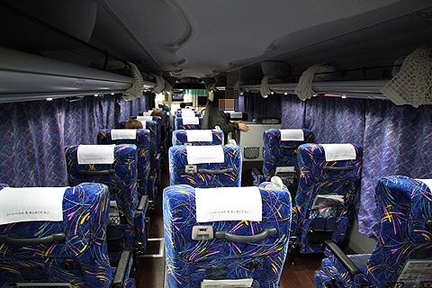 近鉄バス「オランダ号」 8063 車内 その2