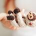 Amigurumi baby sloth crochet pattern