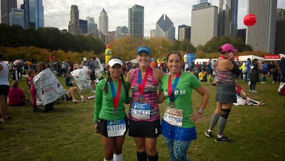 Finishers My Chicago Marathon Recap   #TeamDannyDid