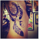 dreamcatcher tattoos on side 4