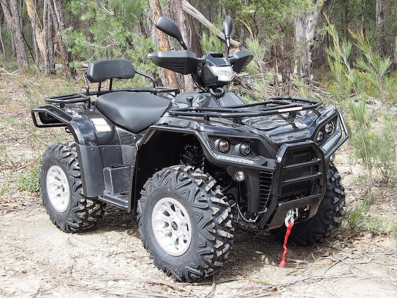 700cc Linhai Yamaha EFI Farm ATV 4x4 Quad Bike Black