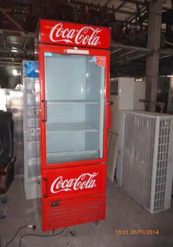 Thanh ly may in mau Canon MX318 ban trang diem tu mat CocaCola