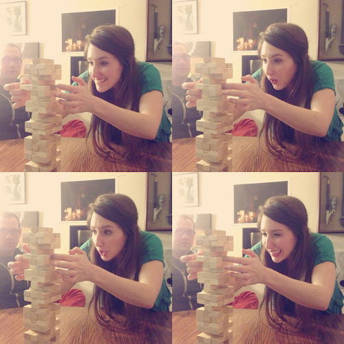 Moi, the many faces of Jenga.