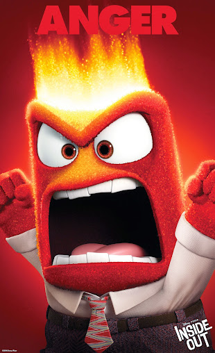 Who else but Lewis Black could be Anger in the new Disney*Pixar film Inside Out, coming June 19, 2015