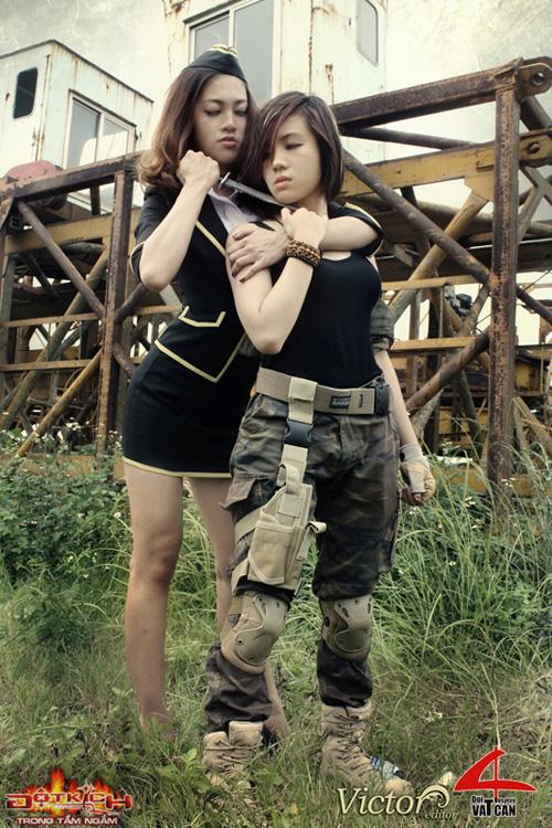 Nhóm Vật Cản công bố bộ ảnh cosplay Đột Kích mới 6