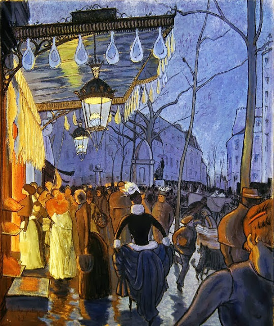 Louis Anquetin - Avenue Clichy,Paris, 1887