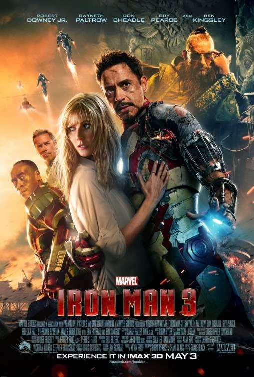 Poster Of English Movie Iron Man 3 (2013) Free Download Full New Hollywood Movie Watch Online At Alldownloads4u.Com