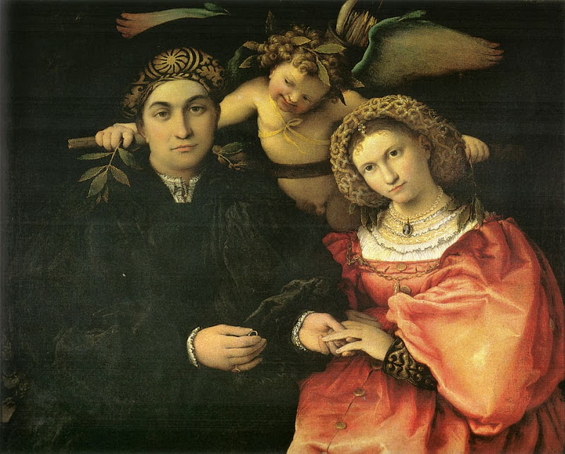 Lorenzo Lotto - Marsilio Cassotti and Faustina, his wife