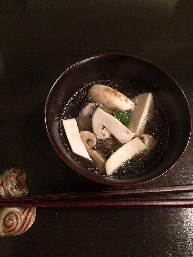 蕎麦がき椀