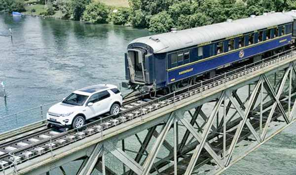 2016 Power Test: Range Rover Discovery Sport Pulls a 100 Tonne Train