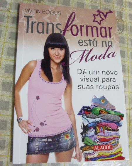 Livro Transformar está na Moda