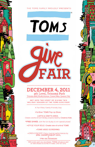 Toms Shoes, events, weekends