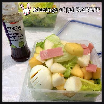 Sesame Soy Sauce Salad Dressing