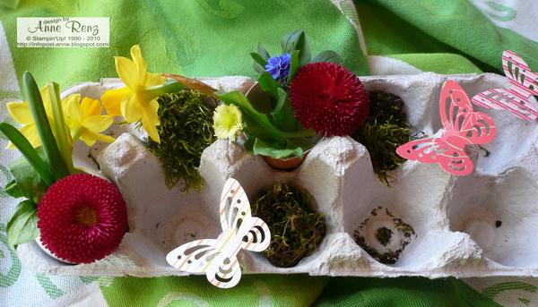 Kreativ Mit Stempel!: Tischdeko Für Ostern
