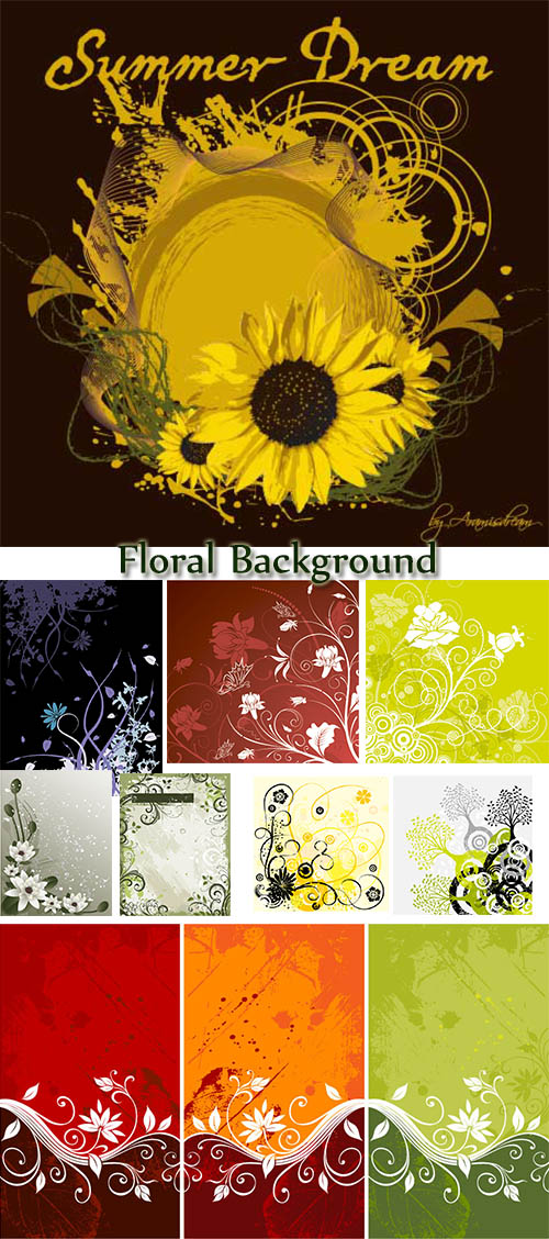 Stock: Floral Background 34