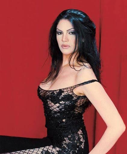 Arab Model Aline Skaf Photo