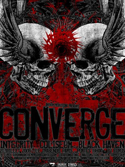 Converge / Integrity / Coliseum / Black Haven / Amen Ra @ Le Trabendo, Paris 21/07/2008