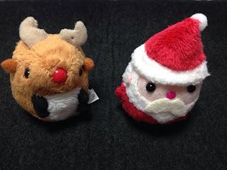 サンタさんとトナカイさんのお手玉