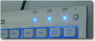 Buat Lampu Caps, Num, Scroll Berkedip 1