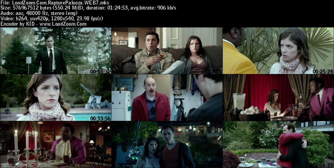 movie screenshot of Rapture Palooza fdmovie.com