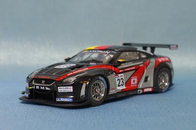 EBBRO NISSAN GT-R GT1 2011 JRM Racing No ...