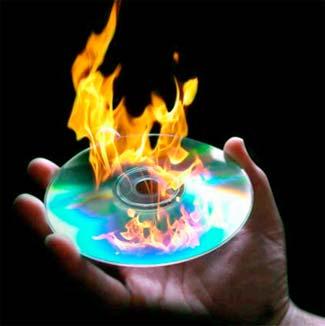 grabar de un cd a un dvd: