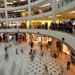 Wnętrze centrum handlowego Suria