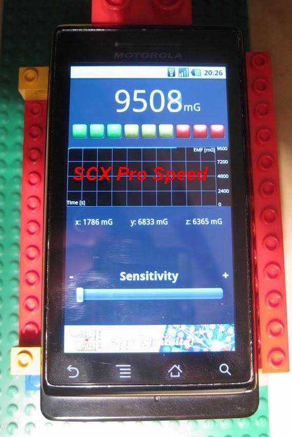 Misurazione del campo magnetico dei motori  Z1