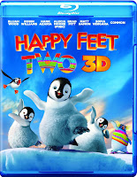 happy feet 2, 3d, bluray, combo, front, cover, image