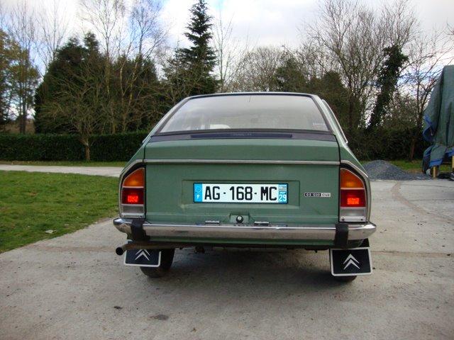 La ptite dernière ! - Citroën GS 1220 Club 1974 DSC00010