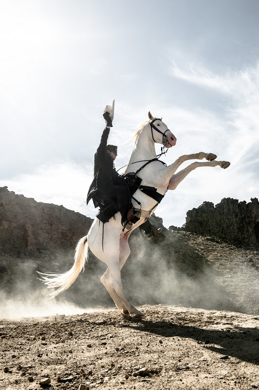THE LONE RANGER Armie Hammer as The Lone Ranger and Silver