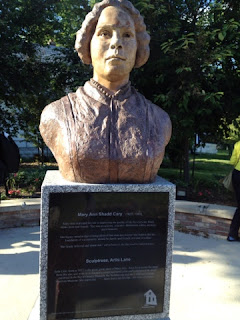 Bronze Bust of Mary Ann Shadd Cary