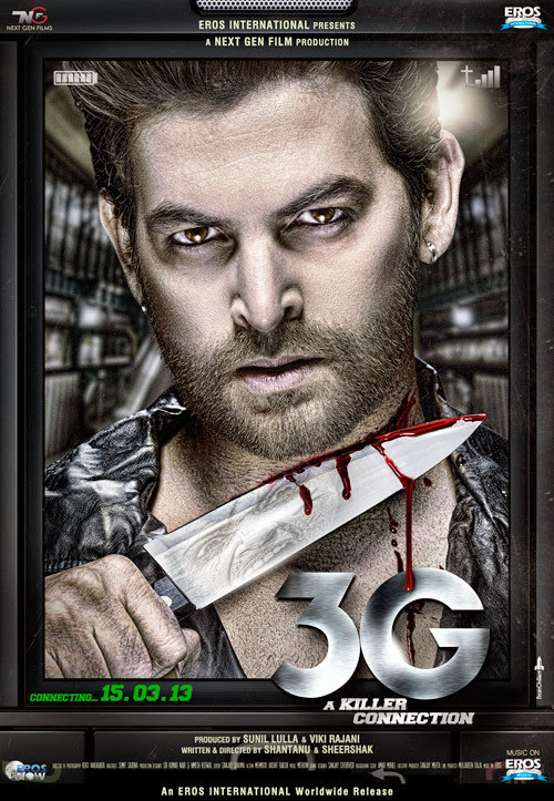 Poster Of Hindi Movie 3G - A Killer Connection (2013) Free Download Full New Hindi Movie Watch Online At alldownloads4u.com