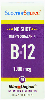 Must Haves for Business Travel - Superior Source MicroLingual Vitamin B-12