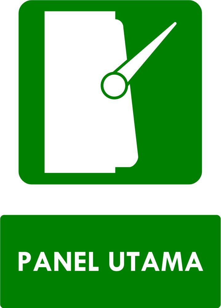 Rambu Panel Darurat