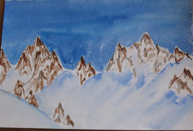 Снежные Альпы