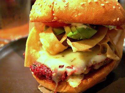 Burger at Roam in San Francisco