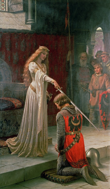 Edmund Blair Leighton - The Accolade