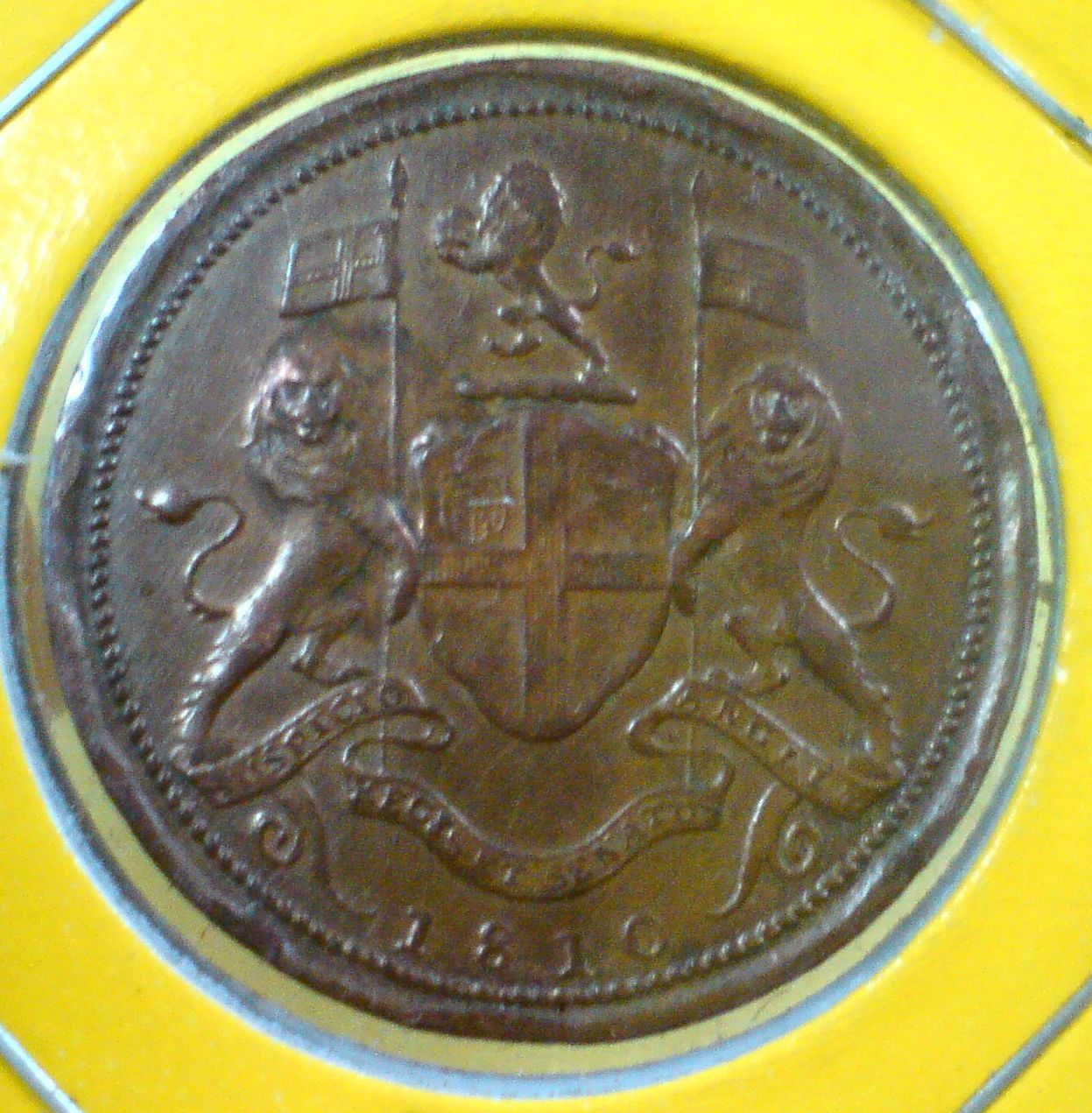 711collectionstore Penang Prince Of Wales 1 2 Cent Copper Coin East India Company 1810